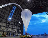 First launch of a balloon from Taiki during 2010