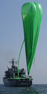 The green balloon during inflation