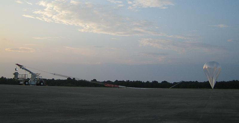 View of the flight line