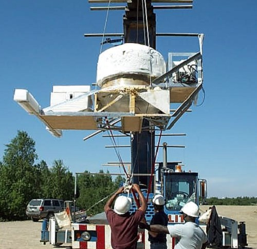 Hang test of the LEE payload