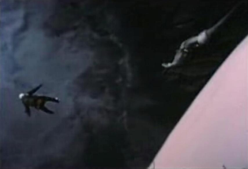 Sequence showing the Kittinger fall
