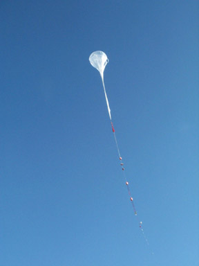 Balloon launching