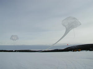 The main balloon is released