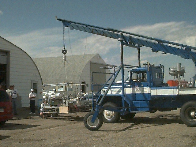 Payload hang test