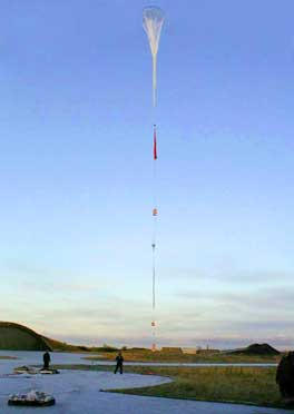 Launch of the 5ZL balloon from Andoya.