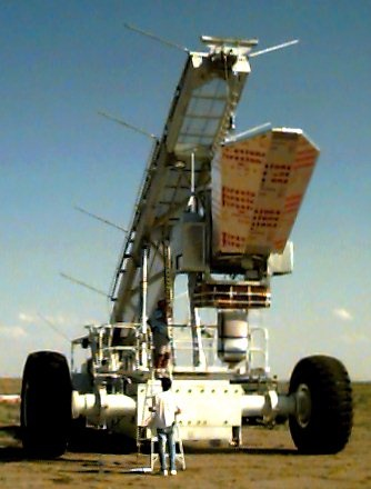 The payload ready to launch. Copyright: NOAA - LACE project.