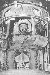 Kittinger en la gondola de MANHIGH 1