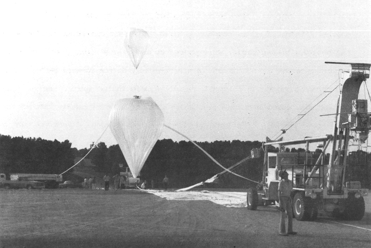 Inflation of the main balloon