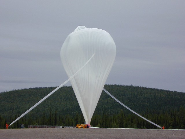 Main balloon inflation